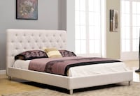 Brand new queen size platform bed directly from supplier Toronto, M4H