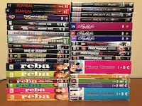 Lot of 33 Complete TV Series on DVD's. Take all for $95 !
