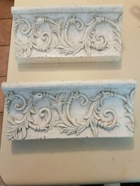 decorative plate shelves. Whitby, L1N 8X3