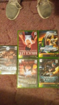 Five Xbox  games almost brand new Hammond, 70401