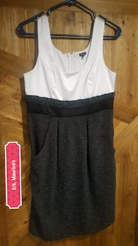 white and black dress with pockets Eau Claire, 54703