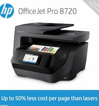 HP OfficeJet 8720 All in One Printer Wesley Chapel, 33543