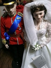 Prince Andrew and Princess Kate Dolls Alexandria, 22306