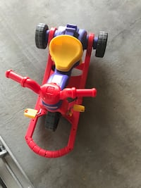 toddler's red and blue trike Edmonton, T6X 0X5