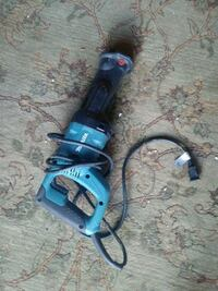 blue and black corded power tool Houston, 77096