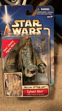 Star Wars Return of the Jedi Ephant Mon toy pack Victorville, 92392