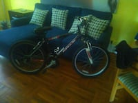 black and blue BMX bike 230 mi