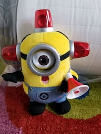 Minion stuffed toy with talking and lights  Toronto, M6J 3S7