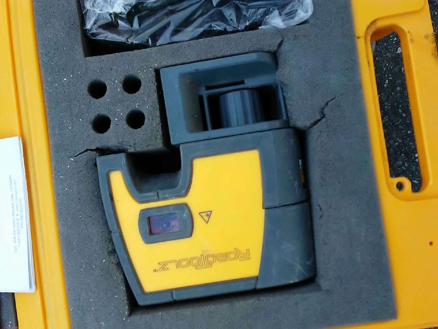 black and yellow tool in case\
