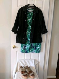 Outfit Bundle: Dress, Jacket, + Wedges Leesburg, 20176