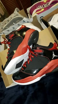 pair of black-and-red Jordan shoes Shoreline, 98133
