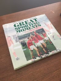 Great sporting moments book Bristow, 20136