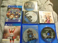 Ps4 games fairly new some missing the cases Hamilton, L8S 4R8