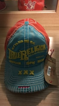 036cfc29073dc Used Blue and orange true religion cap for sale in Pittsburgh - letgo