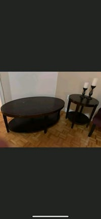 Wood coffee and side table Brampton, L6P 1P4