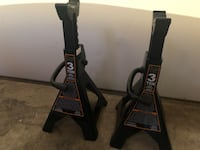 NEW 3 Ton (6,000 lbs) Jack Stands
