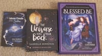 Three decks (oracle, affirmation, blessings)
