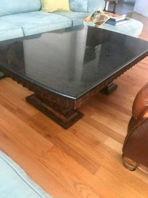 Used Granite Top Coffee Table For