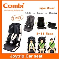 black and gray car seat carrier Toronto, M1E 4R1