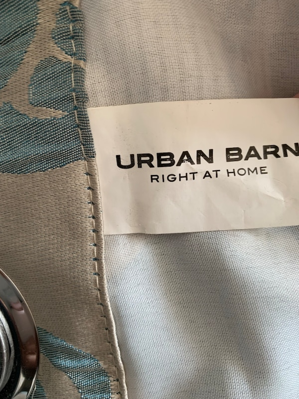 Urban Barn Drapery Curtain panels 2