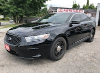 2013 Ford Taurus ExPolice Cruiser/AWD/Bluetooth/Leather/Certified Scarborough, ON M1J 3H5, Canada
