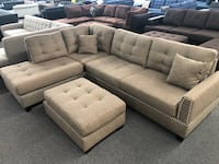 New Couch Sectional. Coffee. Free Delivery !