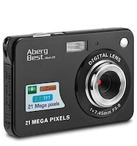 "21 Mega Pixels 2.7"" LCD Rechargeable HD Digital Camera,Video"