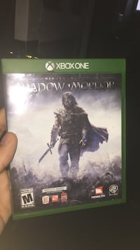 Shadow of Mordor Xbox One game case