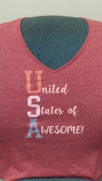 NEW United States of Awesome short sleeve tshirt Milwaukee, 53203