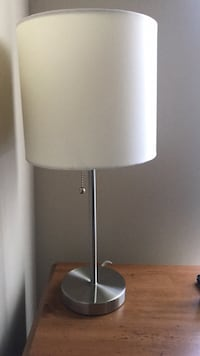 gray and white floor lamp Sterling, 20165