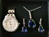 Brand new beautiful watch, necklace and earrings Plymouth, 55442