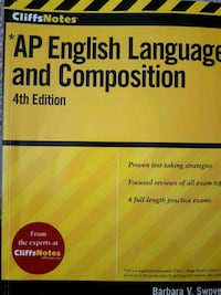CliffsNotes AP English Language and Composition, 4 Mississauga, L5M