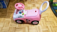 toddler's pink and purple ride-on toy Montréal, H1G 3M2
