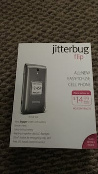 jitter bug cell phone. Used only twice.. Belwood, 28090