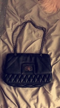 Express black small purse with chain Norridge, 60706