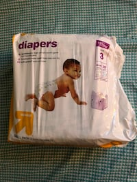 Baby diapers size 3 Minneapolis, 55409
