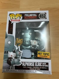Funko pop! Alphonse Elric with kittens (HT exc) Burnaby, V5E 1A8