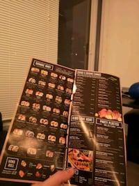 Used Sushi Restaurant Take-Out Menu Toronto, M6K 3R4