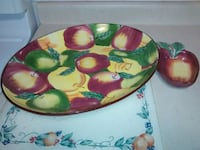 serving dish with dip dish Cambridge, N1R 7B7