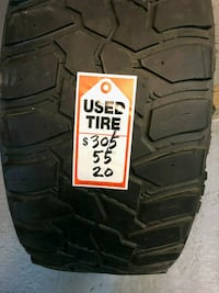 2 USED 305-55-20 MASTERCRAFT TIRES Capitol Heights, 20743