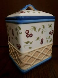 Hand Painted Cookie Jar  Toronto, M6A 2T9