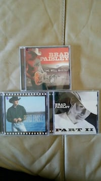BRAD PAISLEY LOT OF 3 CDS North Fort Myers, 33917