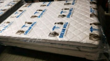 Orthopedic Full size mattress and matching box s