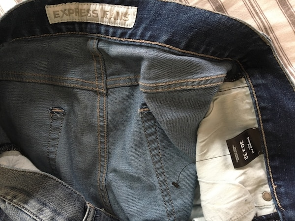Express homme jeans USA brand new side 30w 32l