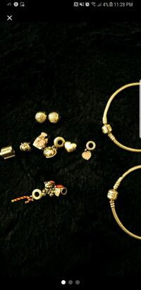 This is for 3 christmas charms and one bracelet  Richmond, 23236