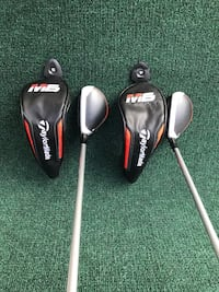 TaylorMade M6 Lightly Used 4 and 5 Golf Hybrids, Stiff Flex Houston, 77064