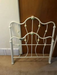 white metal headboard and footboard Calgary, T2T