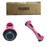 Fluxx FX3 LED Hoverboard - UL2272 Hover Board w/Self Balancing Mode