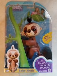 Fingerlings Sloth Walmart Exclusive Hot Christmas Toy SOLD OUT!