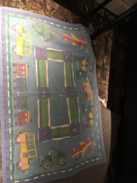 Vintage childrens play rug TORONTO